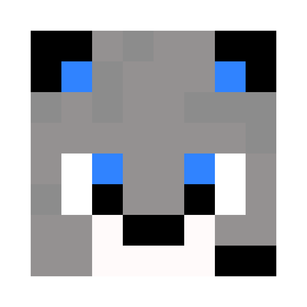 Gamer Wolf Face