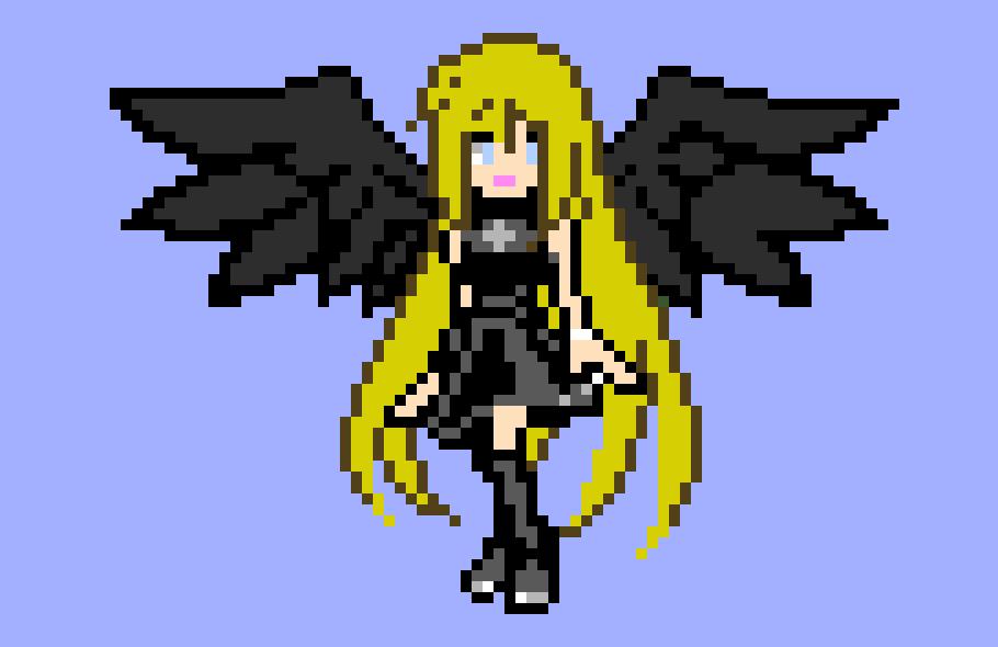 Fallen Angel 2 Pixel Art Maker