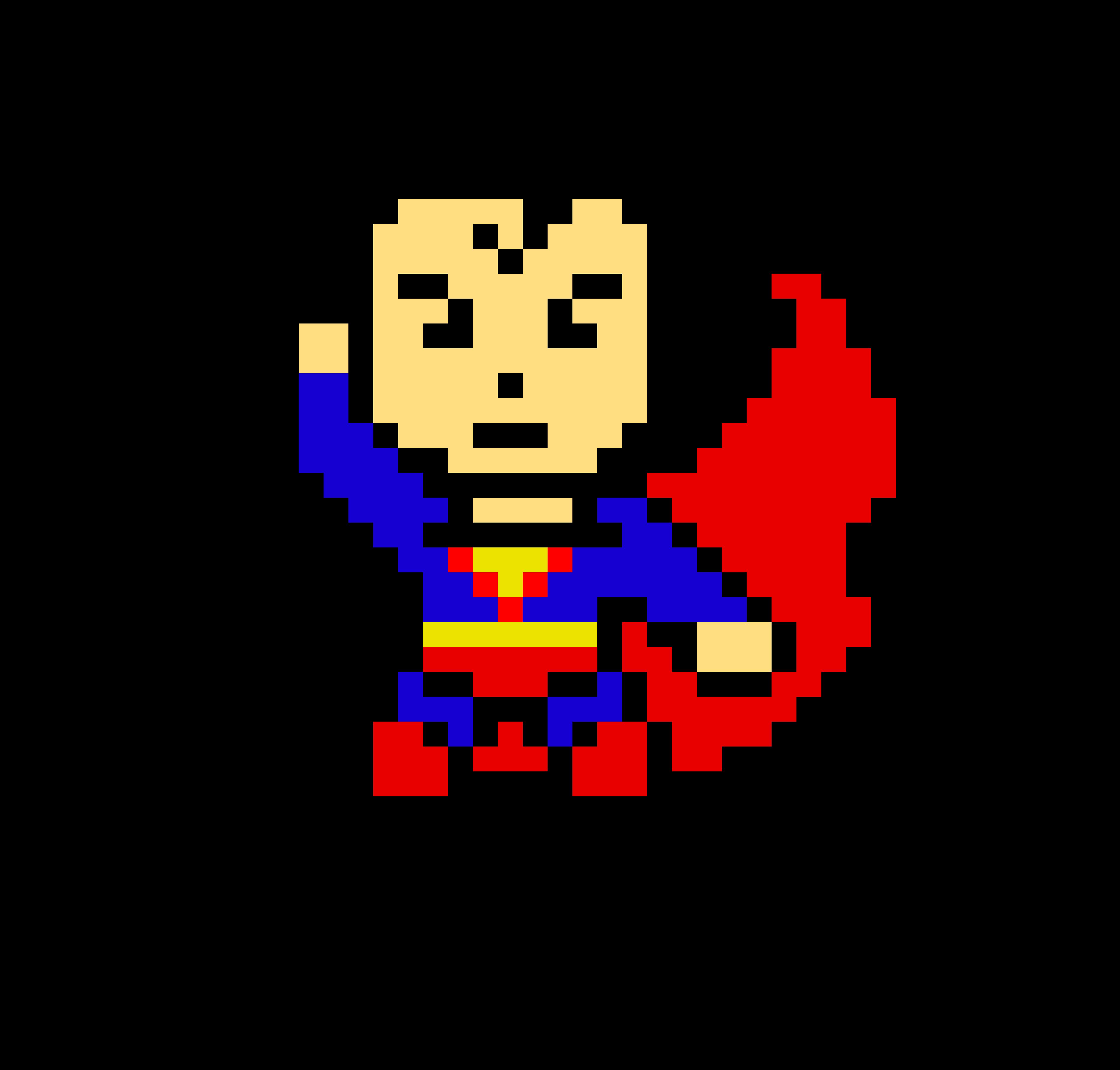 Superman Pixel Art Maker