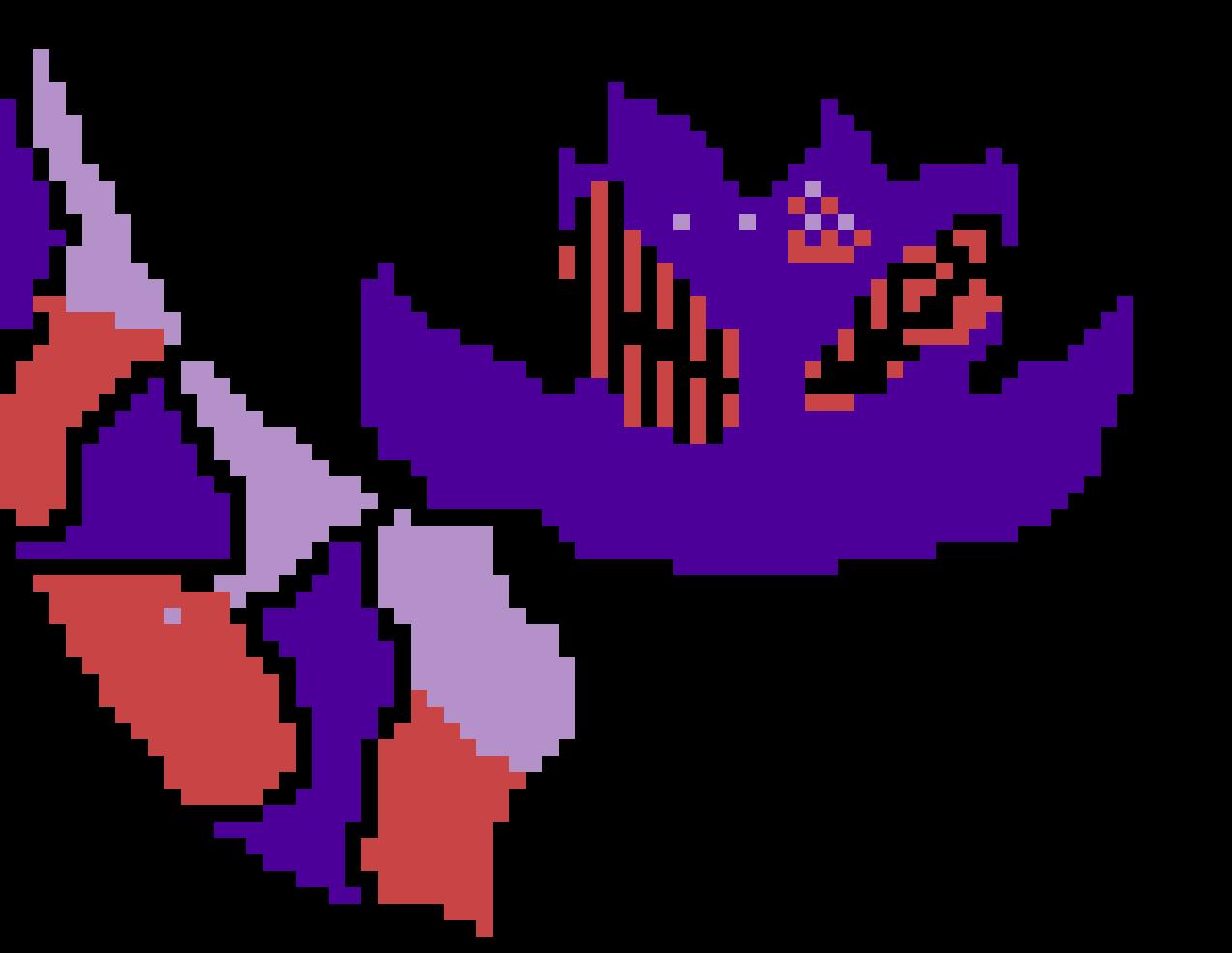 Primal Lunala Unfinished Pixel Art Maker