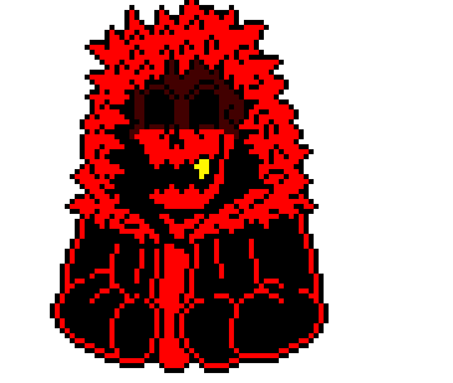 ro: this one was easy but i made full black eyes | Pixel Art Maker