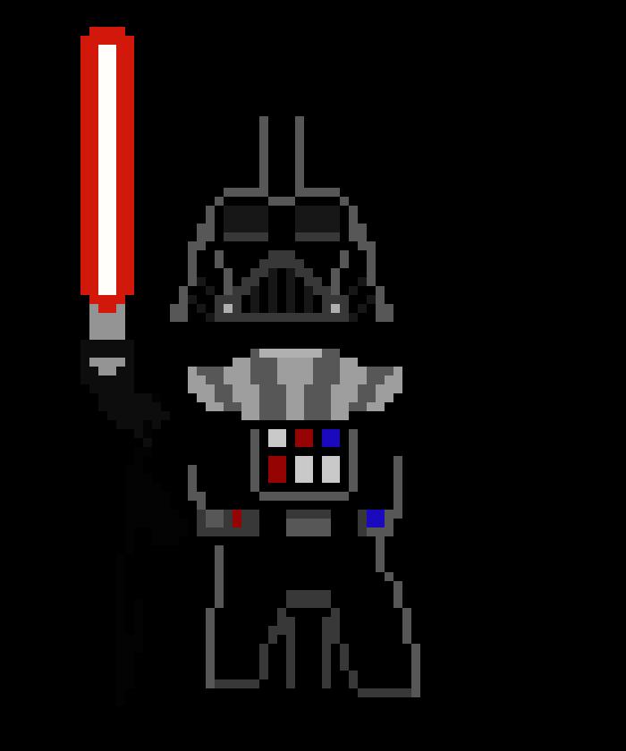 Darth Vader Pixel Art Maker