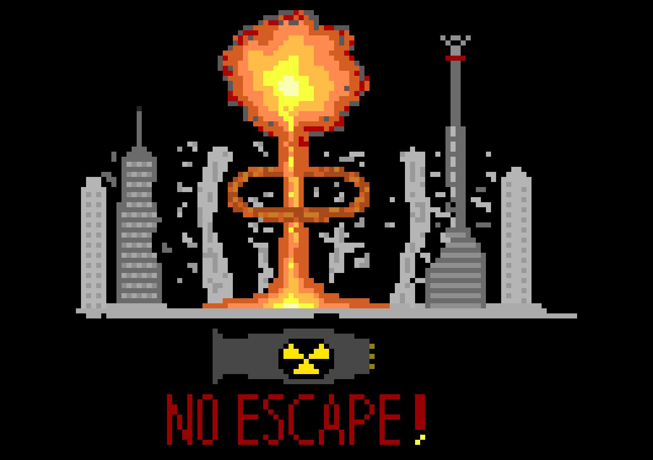 Calendar Maker Art Explosion : Nuke explosion pixel art maker