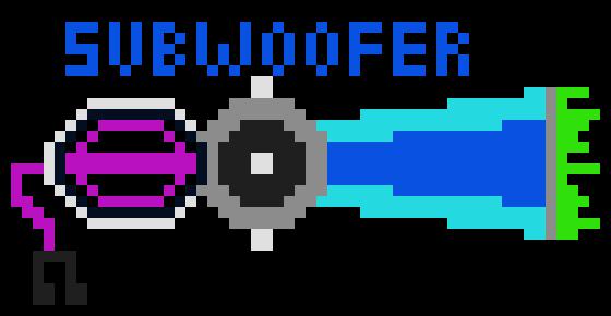 Keyblade Pixel Art: Subwoofer
