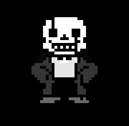 Undertale: Cracked Code Sans Overworld Sprite | Pixel Art Maker
