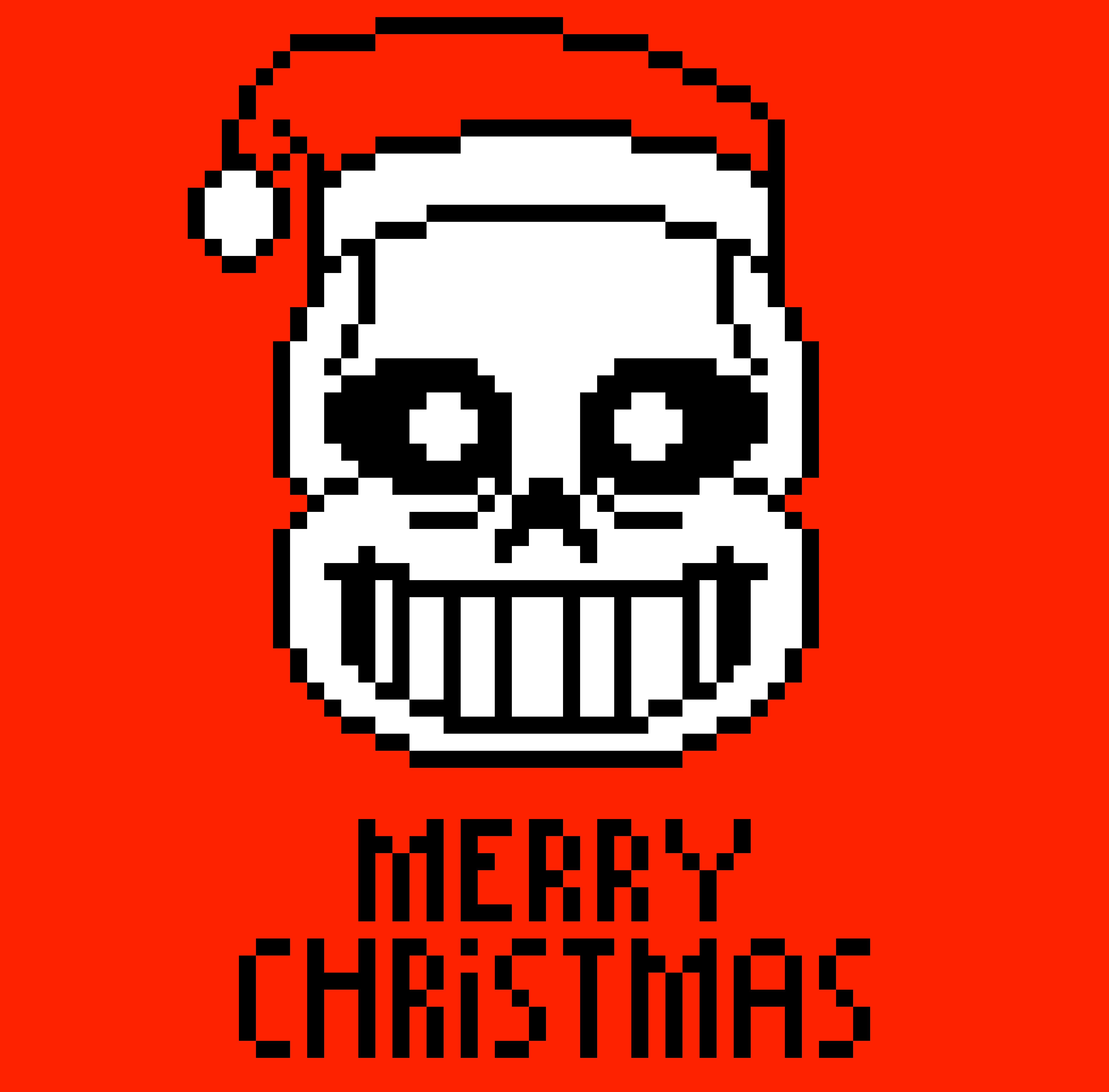 Christmas Discord.Christmas Underpixel Just Head For Discord Pixel Art Maker