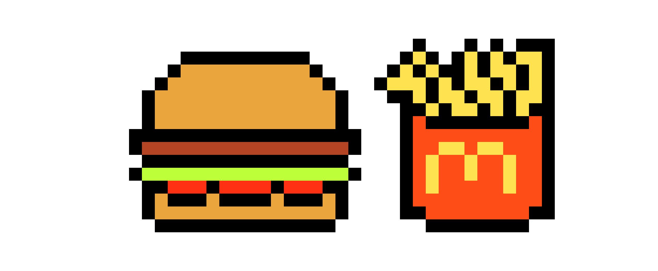 Mcdonalds Pixel Art Maker