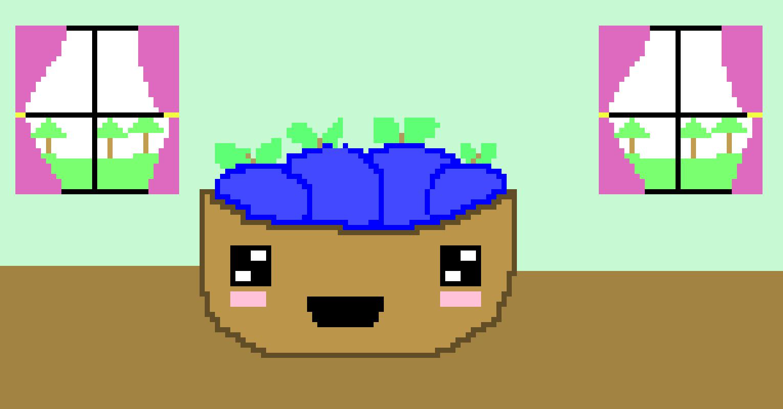 Kawaii Fruit Pixel Art Maker