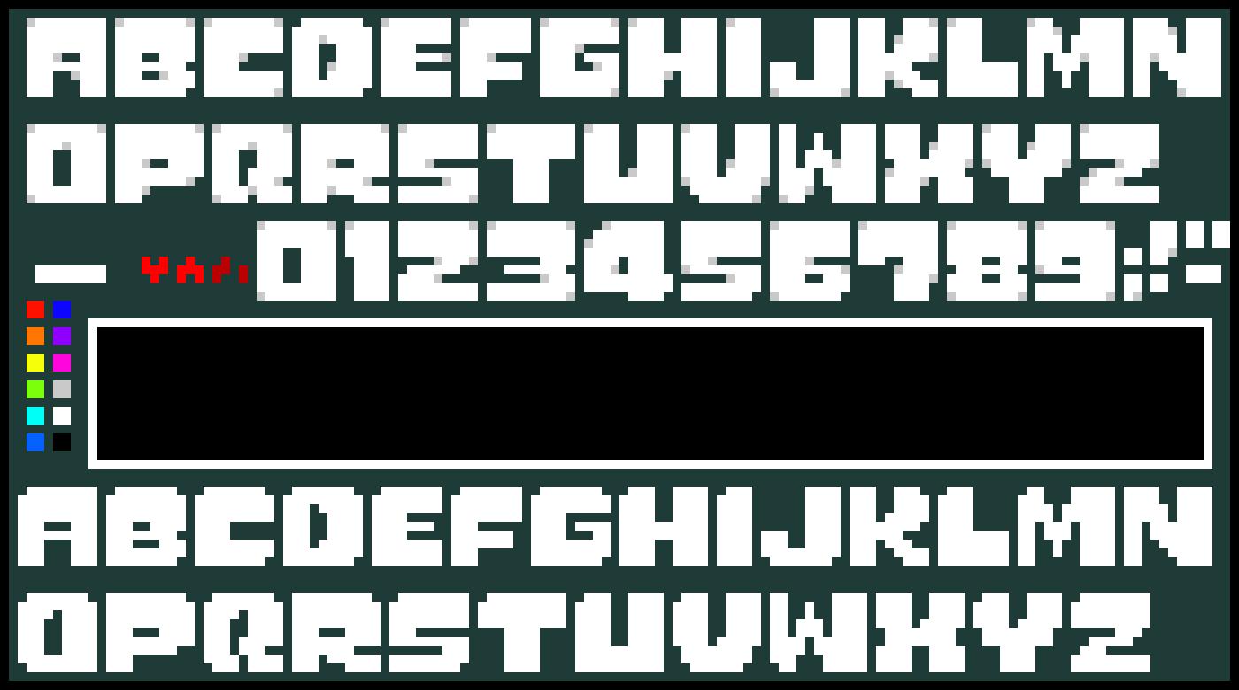 undertale logo making studio pixel art maker