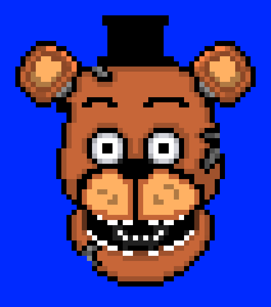 Withered freddy | Pixel Art Maker