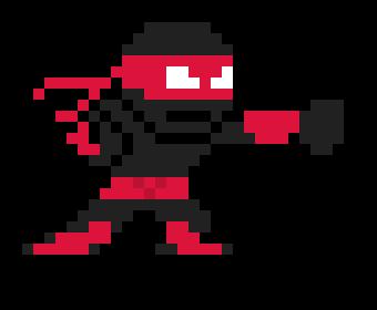 Ninja Punch Pixel Art Maker