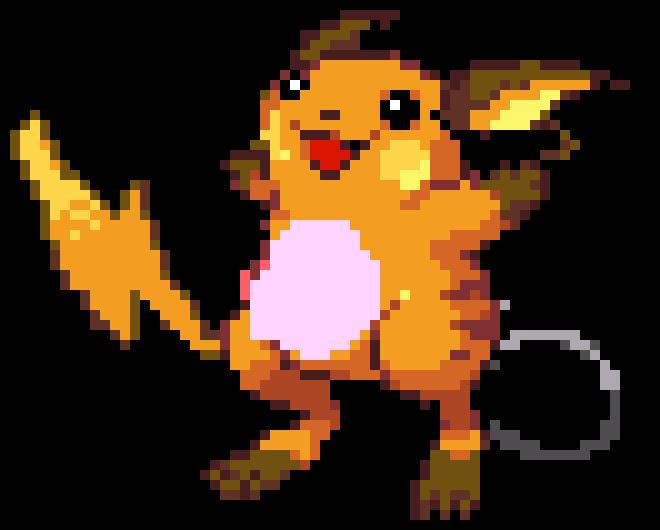 Raichu Pixel Art Maker