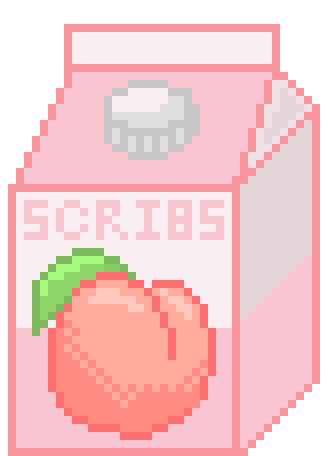Peach Scribs Pixel Art Maker