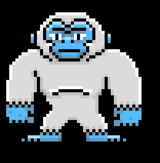 Pixel Yeti