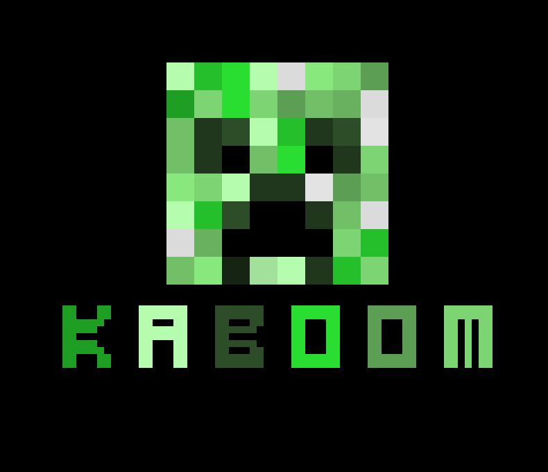 Dessin Pixel Minecraft Creeper