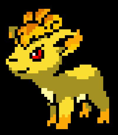 Vulpix (Sara form) (Fan-made region) determined