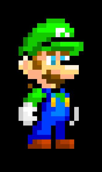 Unimaker Luigi Pixel Art Maker