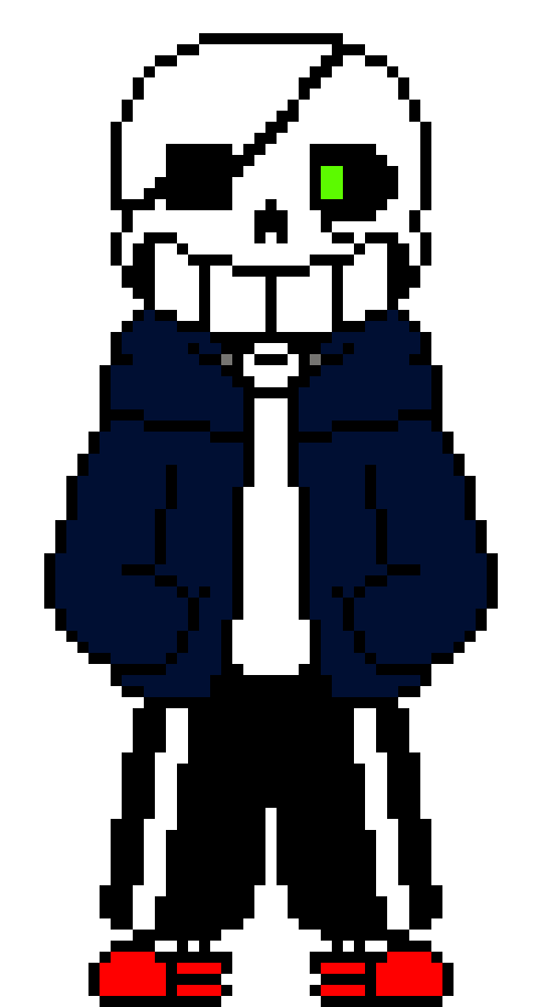 foxy with peters jacket | Pixel Art Maker