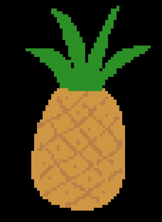 Pineapple Pixel Art Maker