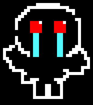 Azazel Undertale Sprite | Pixel Art Maker