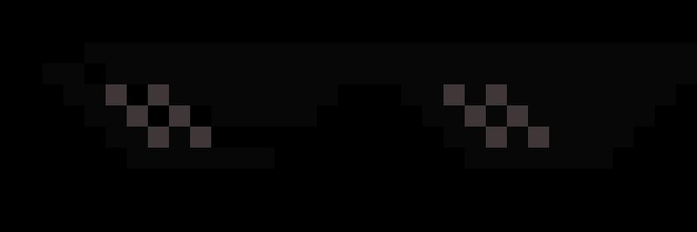 Mlg glasses | Pixel Art Maker