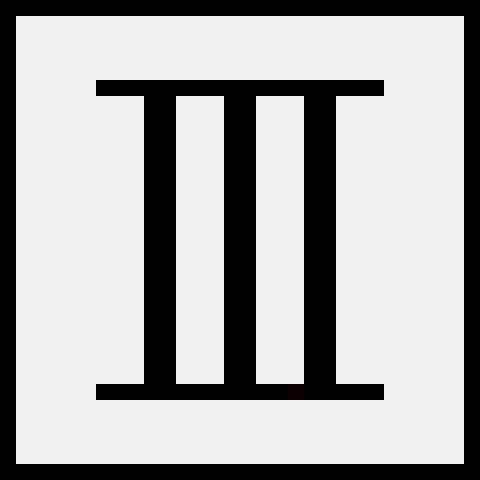 Roman Numeral 3   Pixel Art Maker