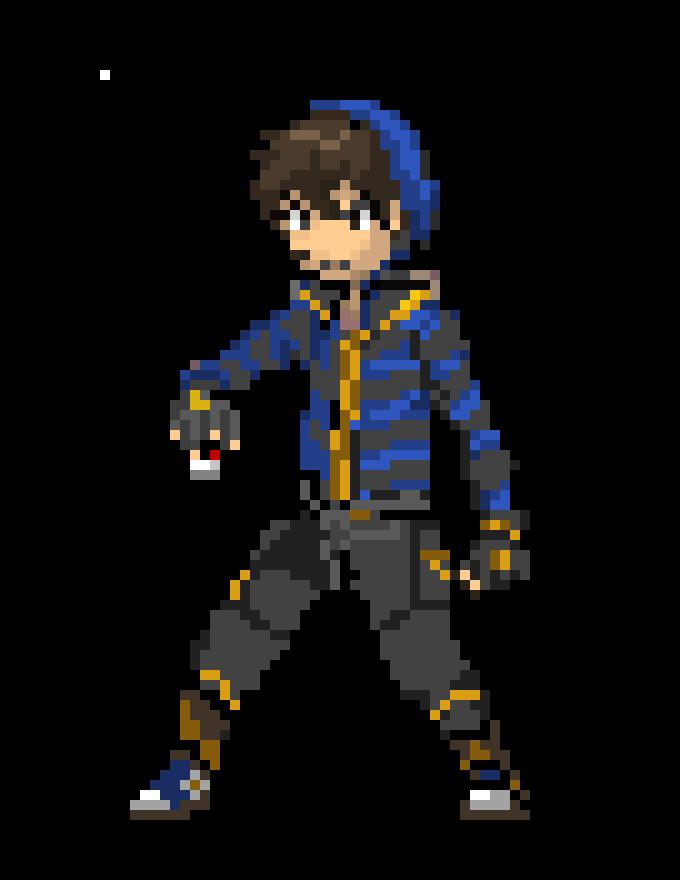 custom pokemon trainer sprite maker