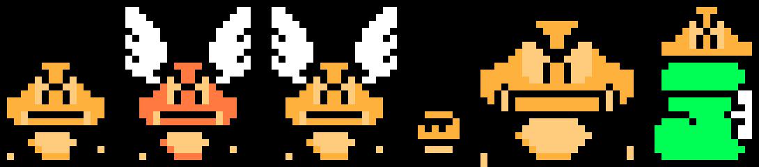 Smb3 Goombas Pixel Art Maker