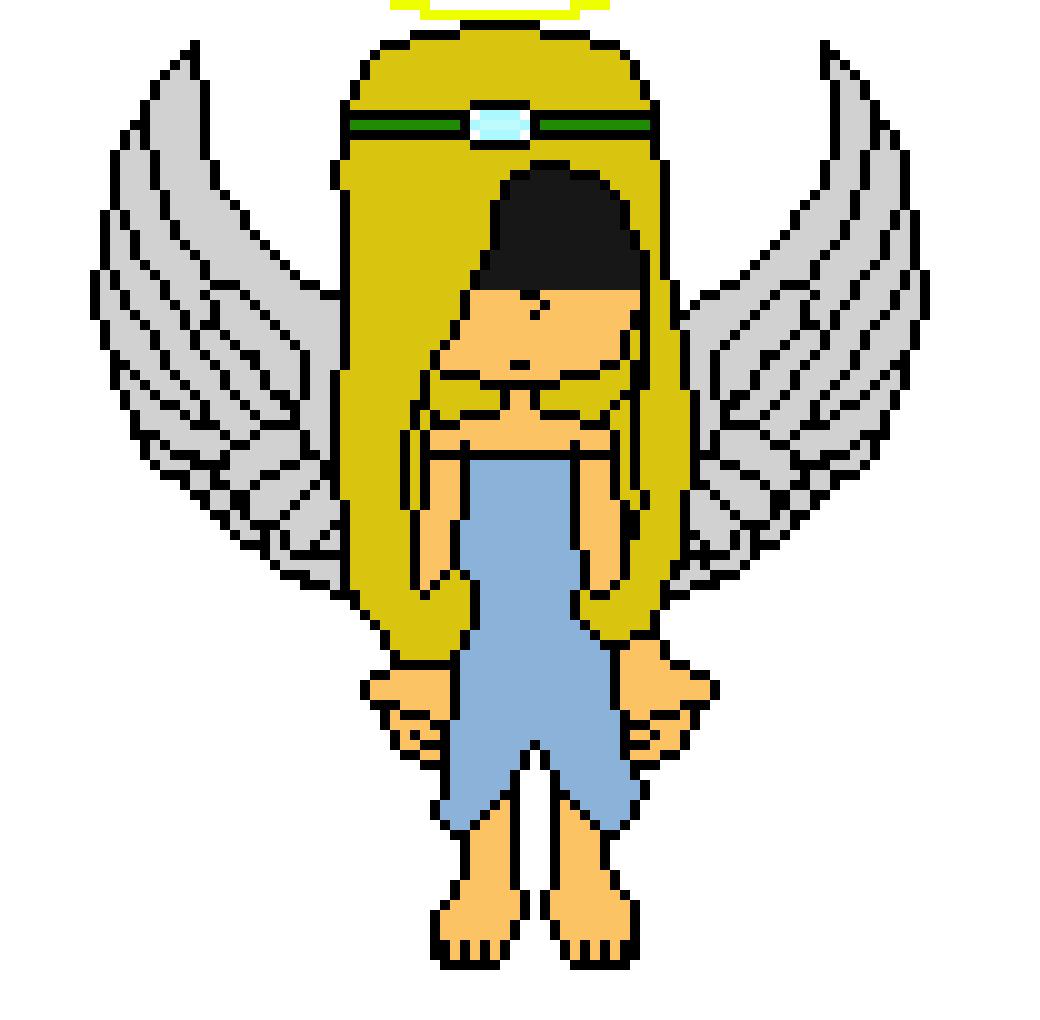 Wip Lucy The Angel Pixel Art Maker