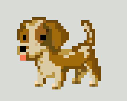 Pixel dog | Pixel Art Maker