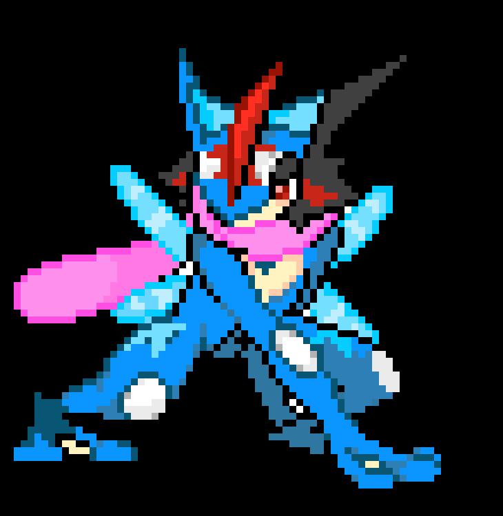 Pixel Greninja