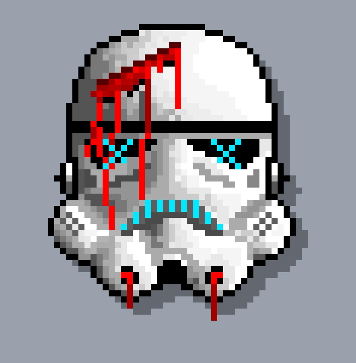 Storm Trooper Pixel Art Maker
