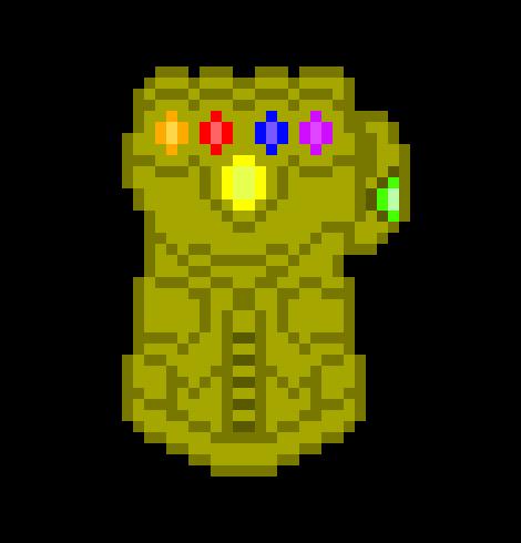Infinity Gauntlet | Pixel Art Maker