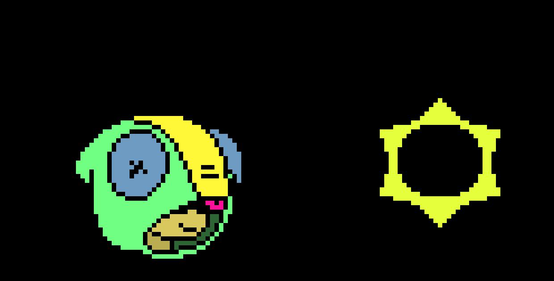 Leon pixelart(wip background)(no grid)